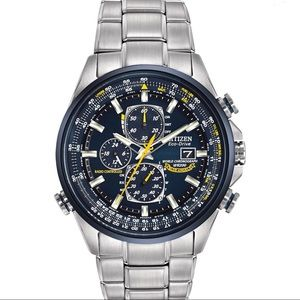 Eco Drive Blue Angels Chronograph Men's Watch